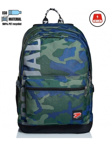 Zaino Seven The Double PRO XXL Camo Royal