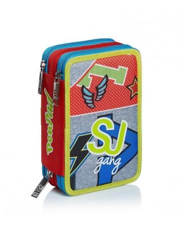 Astuccio Seven 3 Zip PEN PAD SJ Gang College e Sport