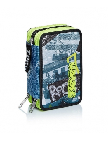 Astuccio Seven 3 Zip Urban Rock