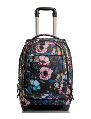 Zaino Trolley Invicta Bump PRO Plain Wildflowers