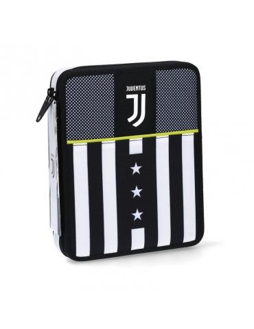 Astuccio Seven Maxi 2 Zip Juventus Winner Forever