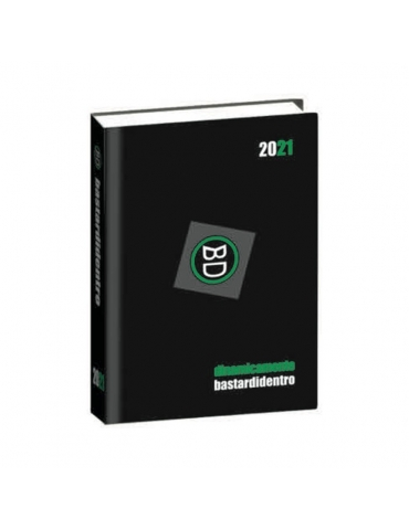 Diario Bastardidentro 2020-2021 16 Mesi