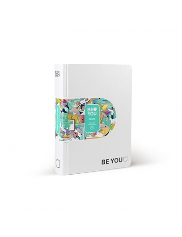 Diario Be You 2021 Pearl 12 Mesi