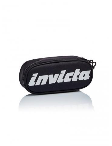 Astuccio Invicta Lip Pencil Bag Logo Nero