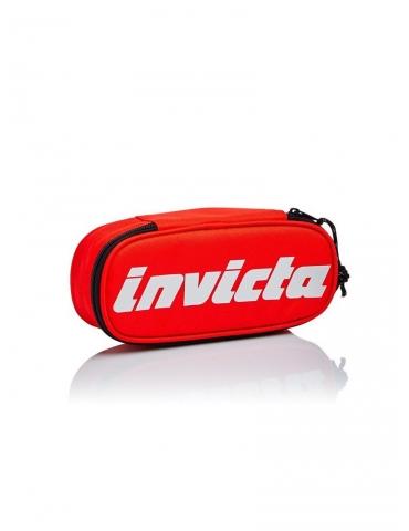 Astuccio Invicta Lip Pencil Bag Logo Rosso