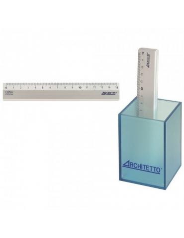 Righello Architetto Alluminio 15 cm