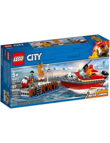 LEGO CITY Incendio al porto