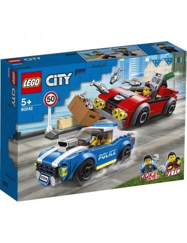 LEGO CITY arresto su strada della polizia