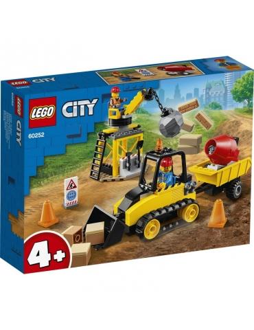 LEGO CITY bulldozer da cantiere