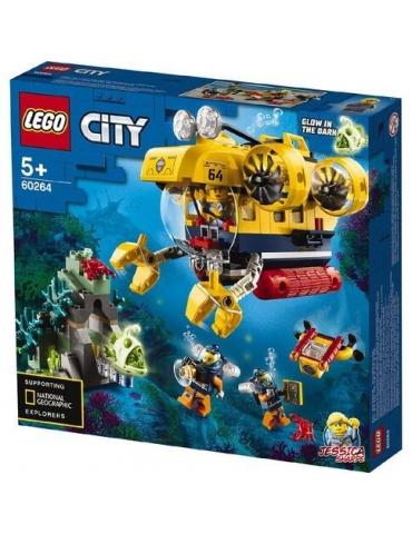 LEGO CITY sottomarino da esplorazione oceanica