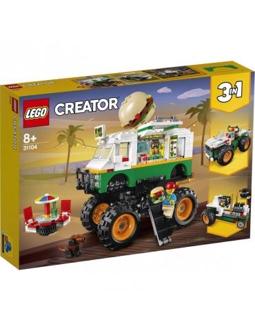 LEGO CREATOR monster truck degli hamburger