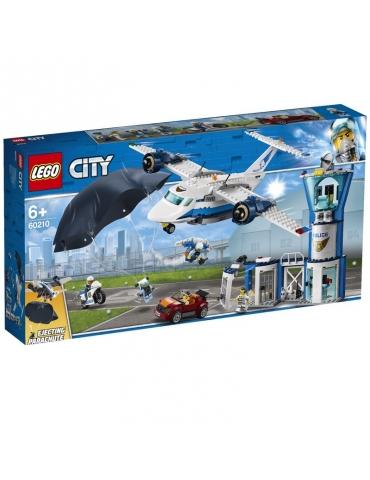 LEGO CITY base della polizia aerea