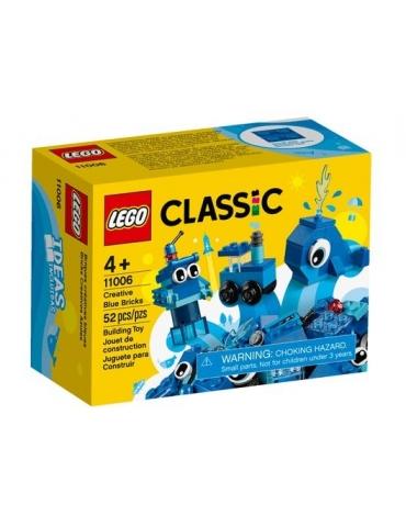 LEGO CLASSIC mattoncini blu creativi