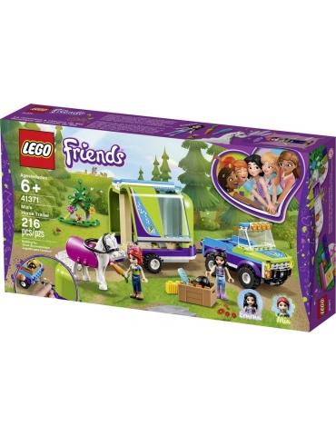 LEGO FRIENDS il rimorchio dei cavalli di Mia