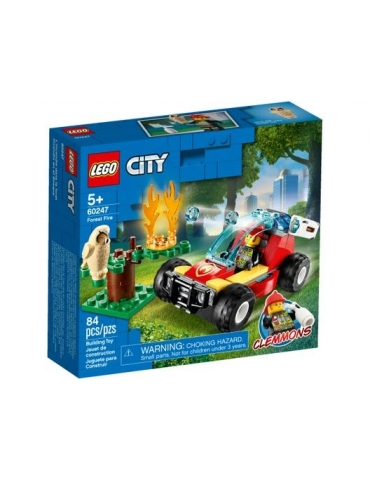 LEGO CITY Incendio nella foresta