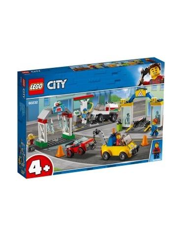 LEGO CITY stazione di servizio e officina