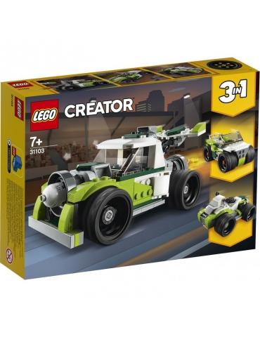 LEGO CREATOR razzo - bolide