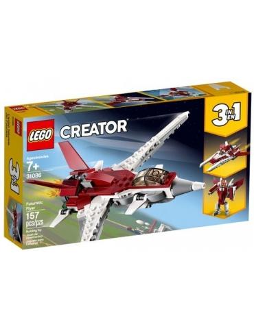 LEGO CREATOR aereo futuristico