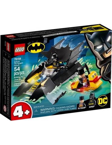 LEGO DC All'inseguimento del Pinguino con la Bat-barca!