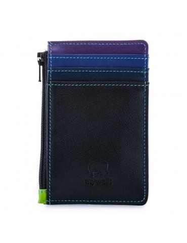 Porta carte di credito MyWalit con portamonete Black Pace