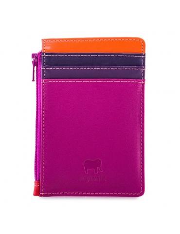 Porta carte di credito MyWalit con portamonete Sangria Multi