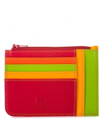 Porta carte di credito slim con portamonete MyWalit Jamaica