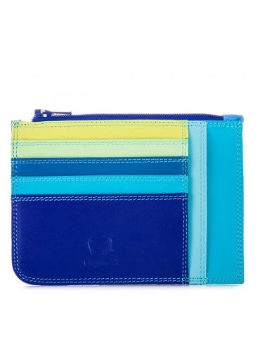 Porta carte di credito slim con portamonete MyWalit Seascape