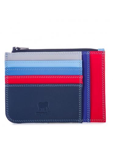 Porta carte di credito slim con portamonete MyWalit Royal