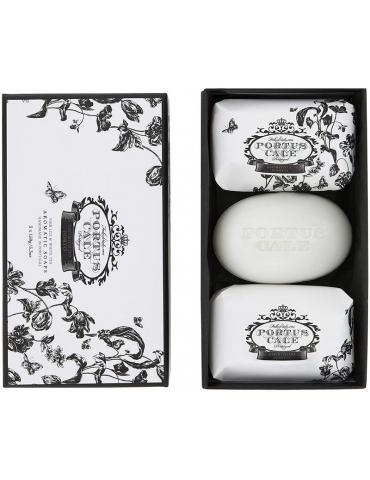 Set saponette 3x150 g Floral Toile - Castelbel Portus Cale