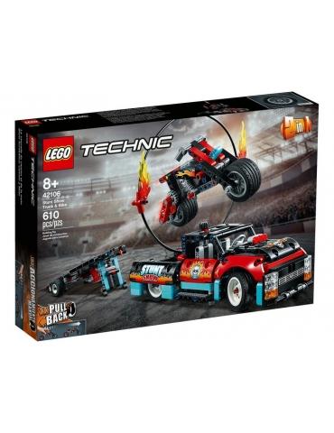 LEGO Technic Truck e Moto dello Stunt Show 42106