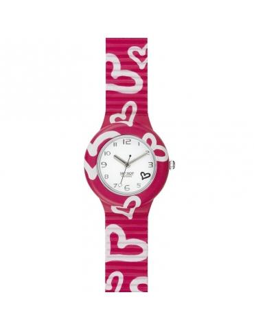 Hip Hop Watches - Orologio da Donna Hip Hop Fucsia - Collezione Be Loved - Cinturino in Silicone