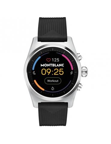 Smartwatch Montblanc Summit Lite in Alluminio Grigio e Cinturino in Tessuto