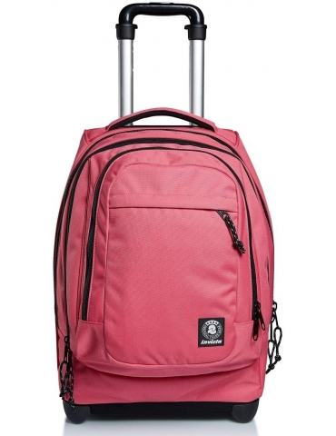 Zaino Trolley Invicta Bump PRO Plain Rosa