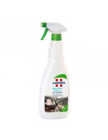 AMUCHINA Spray Vetri Multiuso Professionale, Azione Igienizzante