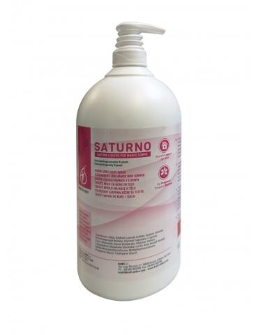 Sapone Liquido Bianco Perlato per Mani e Corpo - Saturno