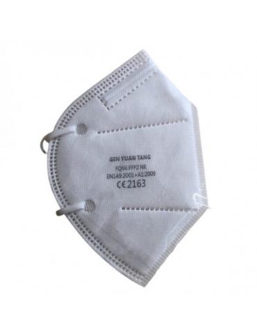 Mascherine FFP2 colore Bianco Confezione 5 pezzi